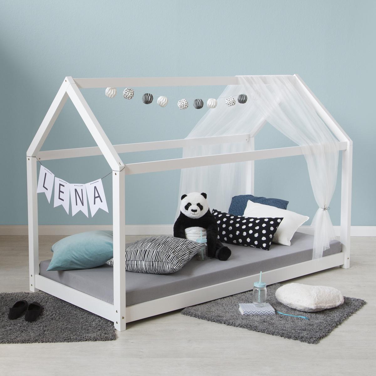 Detská posteľ domček - biela House bed