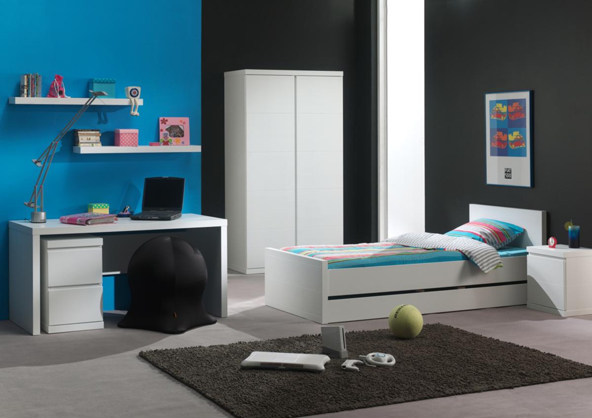 Detská posteľ Ourbaby Lara biela 200x90 cm