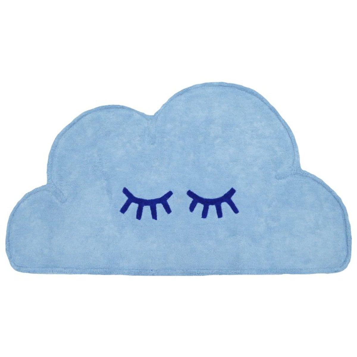 Detský koberec Mráčik - modrý Cloud 60x110 cm