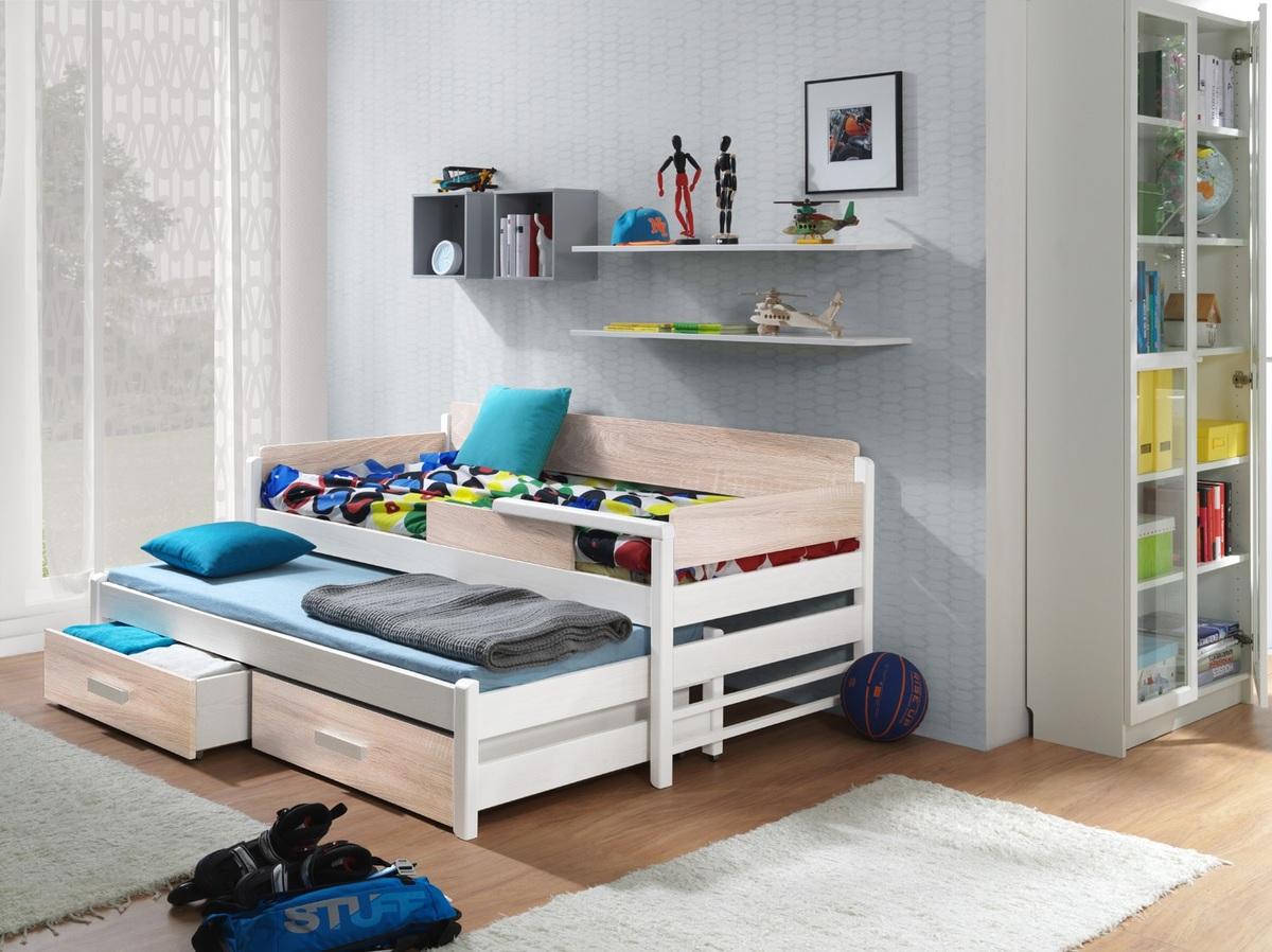 Detská posteľ Ourbaby Dois dub 180x80 cm