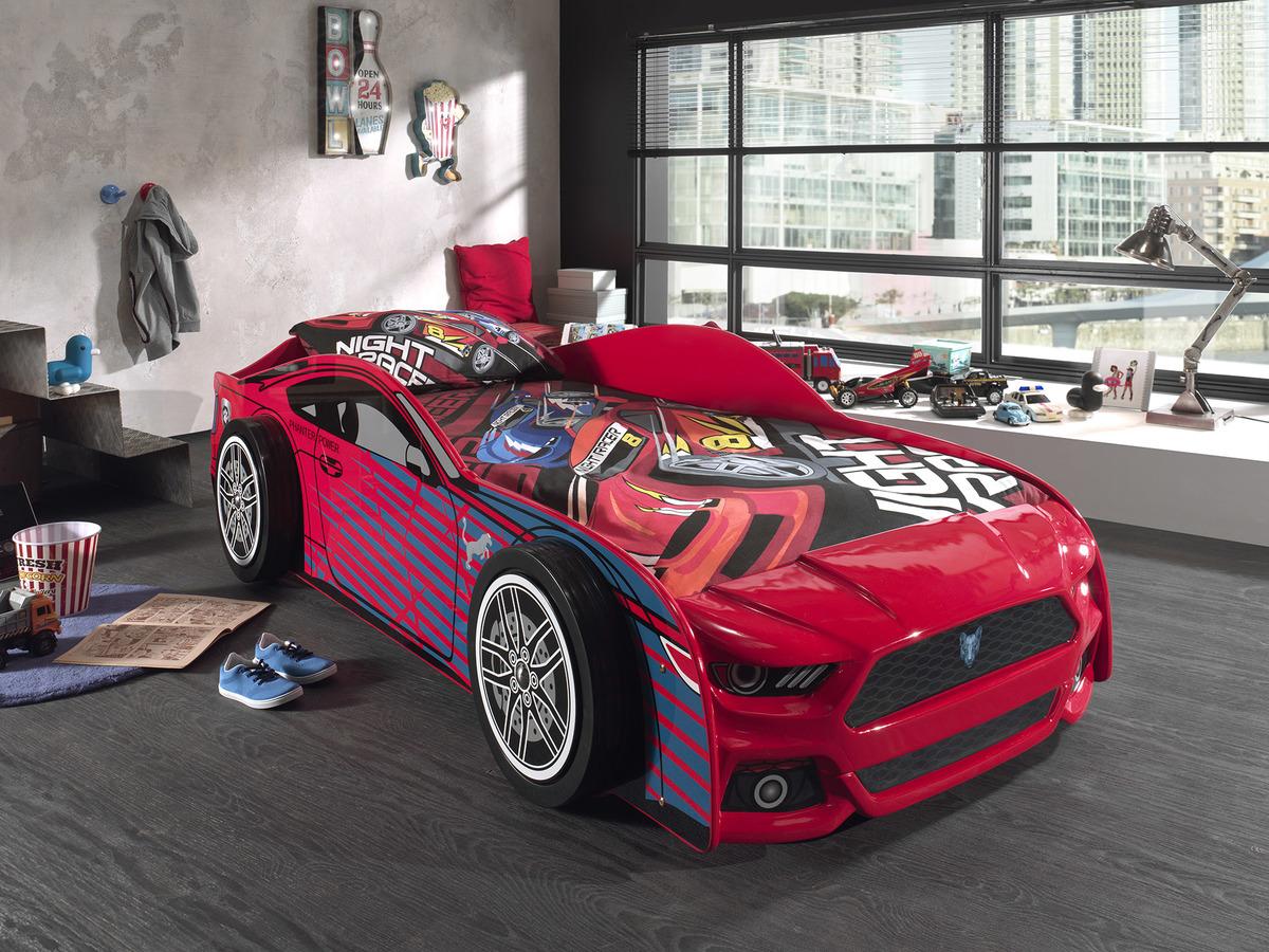 Detská posteľ auto Panther - červená Car