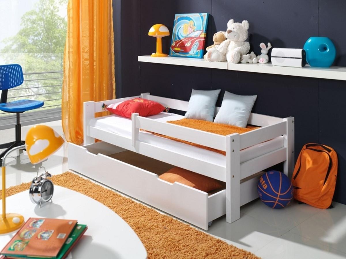 Detská posteľ Ourbaby Guardy White biela 160x90 cm