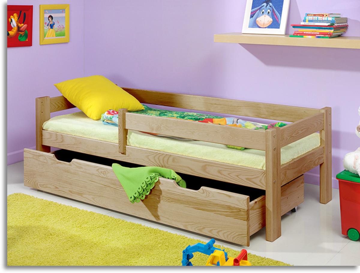 Detská posteľ Ourbaby Guardy Beech buk 160x70 cm
