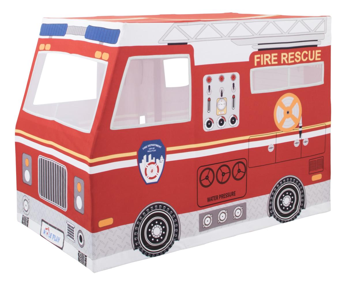 Detský hracia domček Hasičské auto 370044