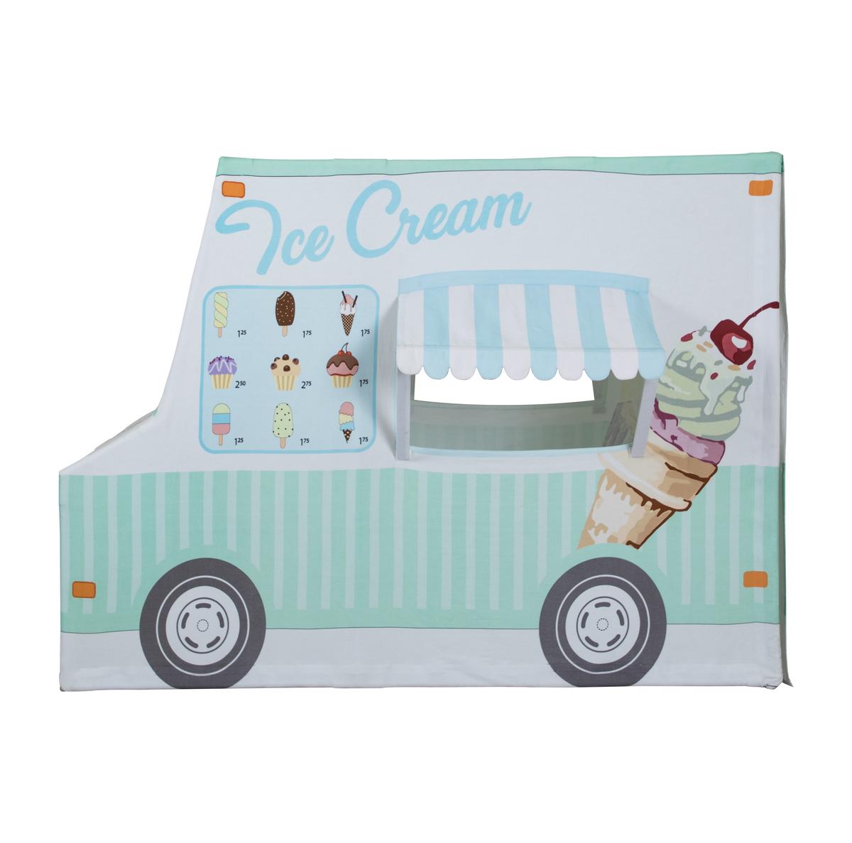 Detský hracia domček Zmrzlinové auto 370056