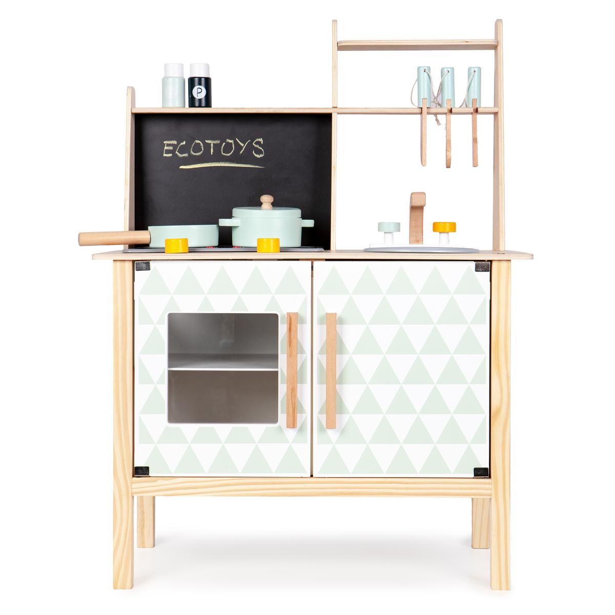 Drevená kuchynka Stella s vybavením wood kitchen