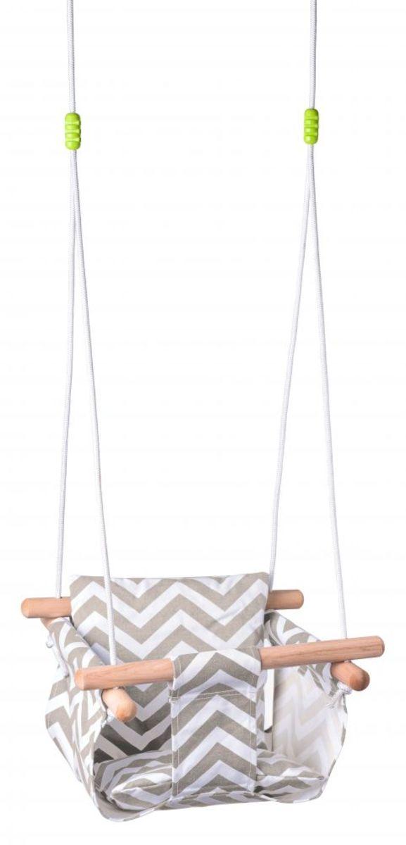 Látková hojdačka pre najmenších baby fabric swing