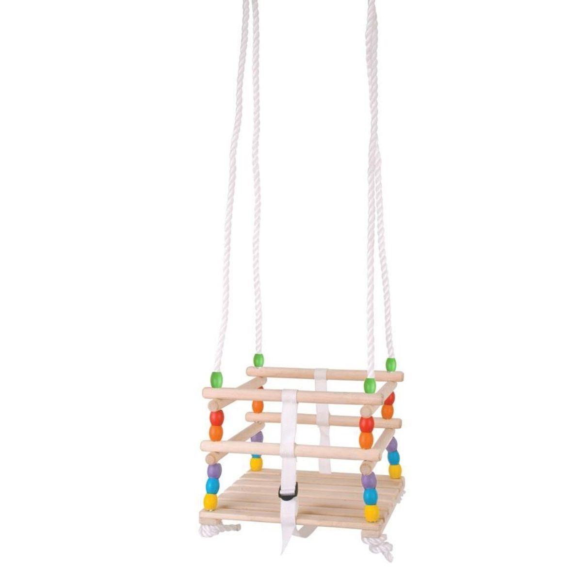 Drevená hojdačka pre najmenších do 25 kg wooden baby swing