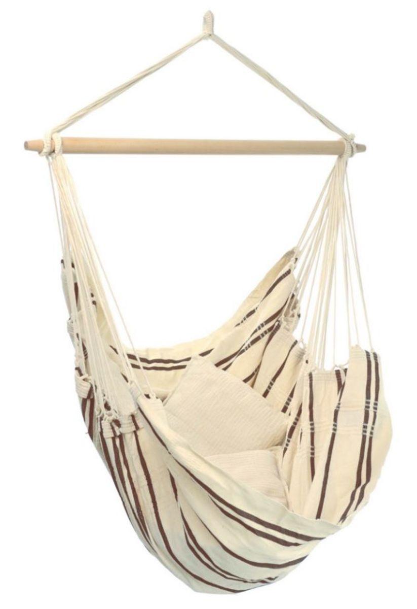 Závesné hojdacie kreslo Brasil Cappucino hammock chair
