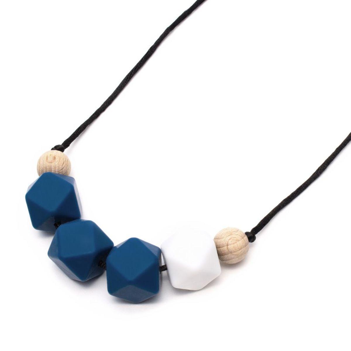 Silikónové dojčiace korále Ron Silicone necklace