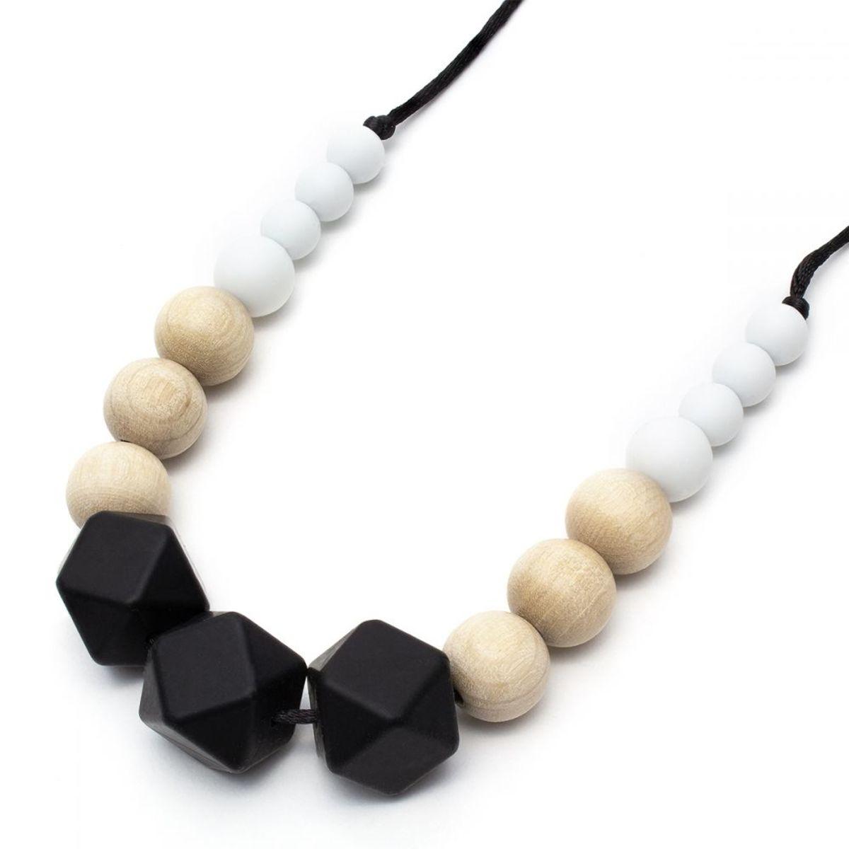 Silikónové dojčiace korále Audrey Silicone necklace