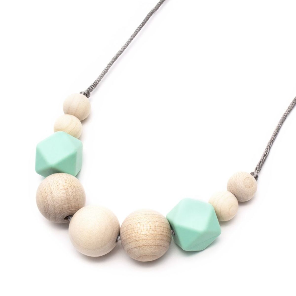 Silikónové dojčiace korále Olivia Silicone necklace