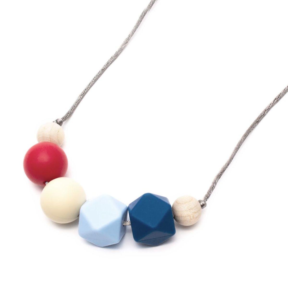 Silikónové dojčiace korále Pápa Silicone necklace