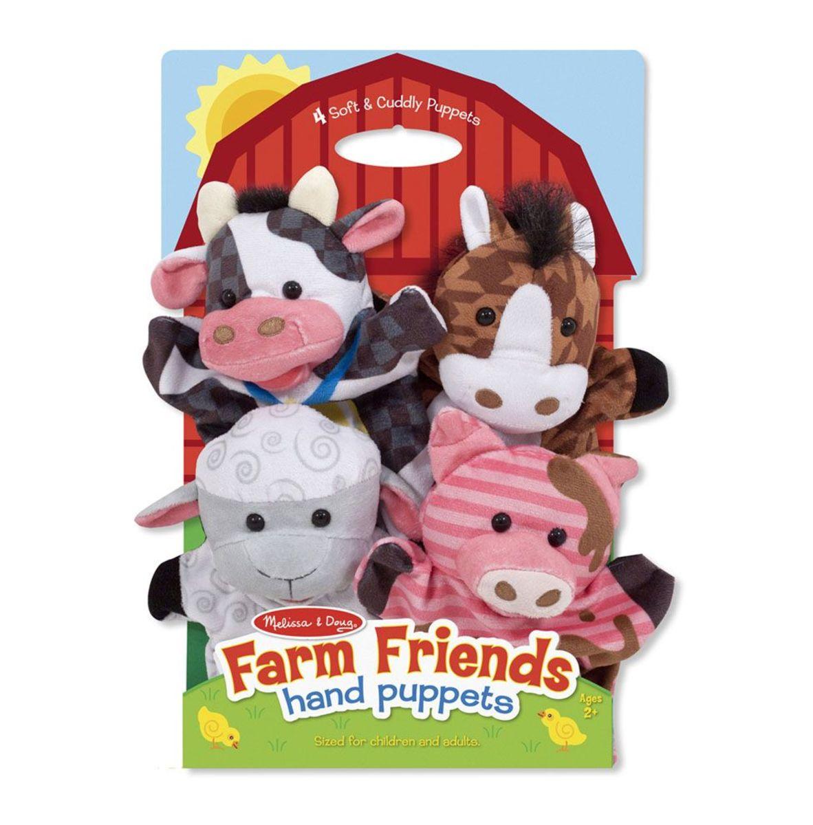Maňušky Farma - súprava 4 ks Hand puppets