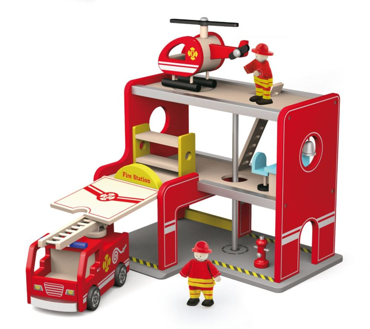 Hasičská stanica s príslušenstvom Fire station