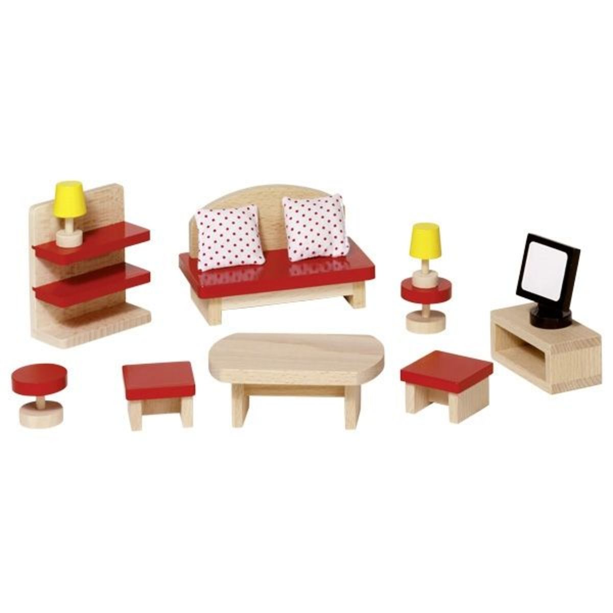 Nábytok do obývačky pre bábiky Doll furniture