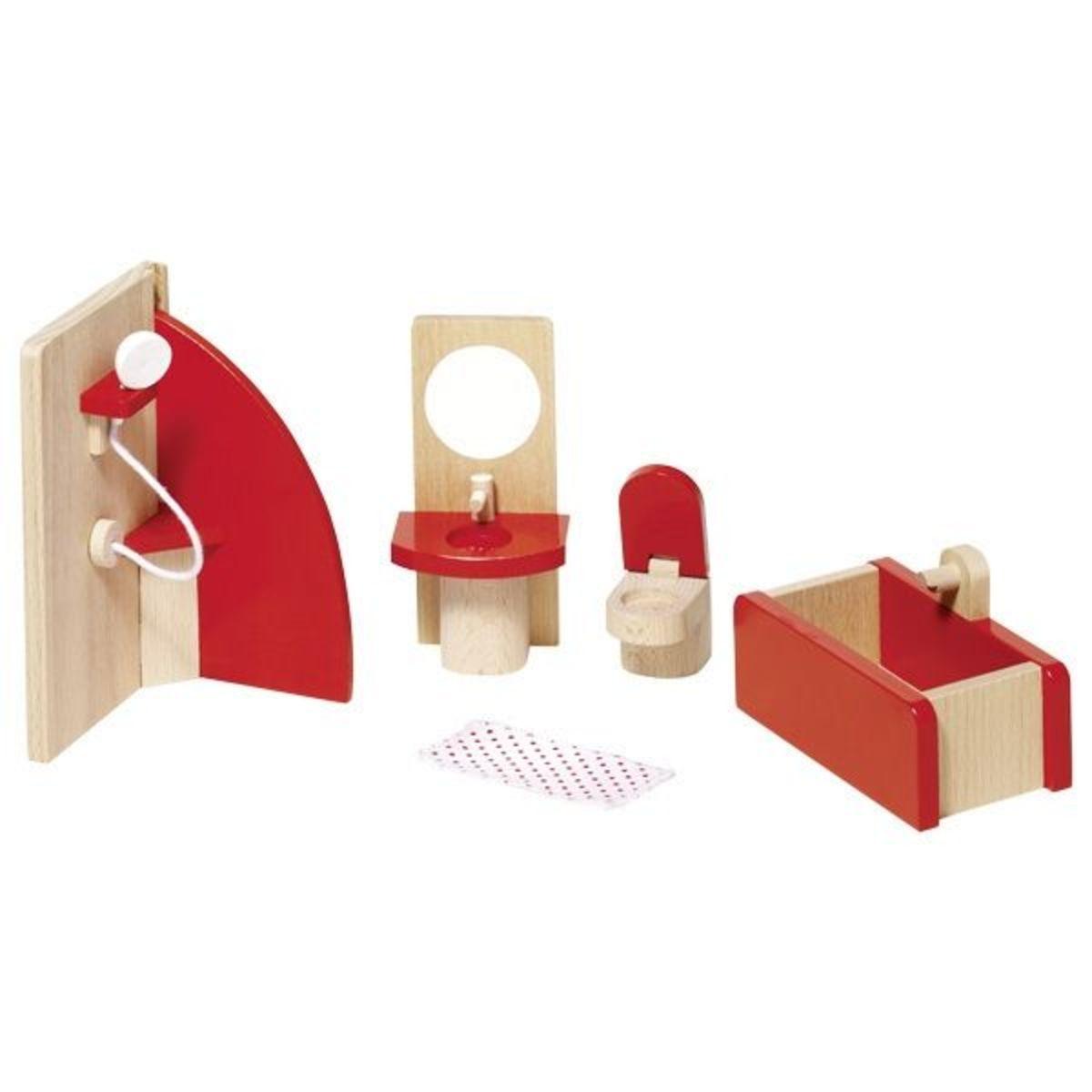 Nábytok do kúpeľne pre bábiky Doll furniture