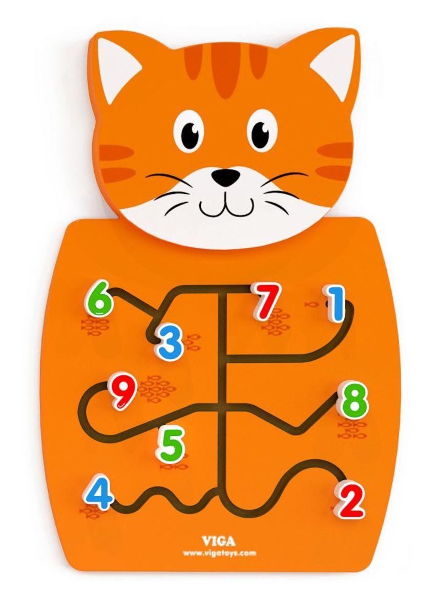 Vzdelávacie nástenná hračka - Koťátko Activity panel kitten