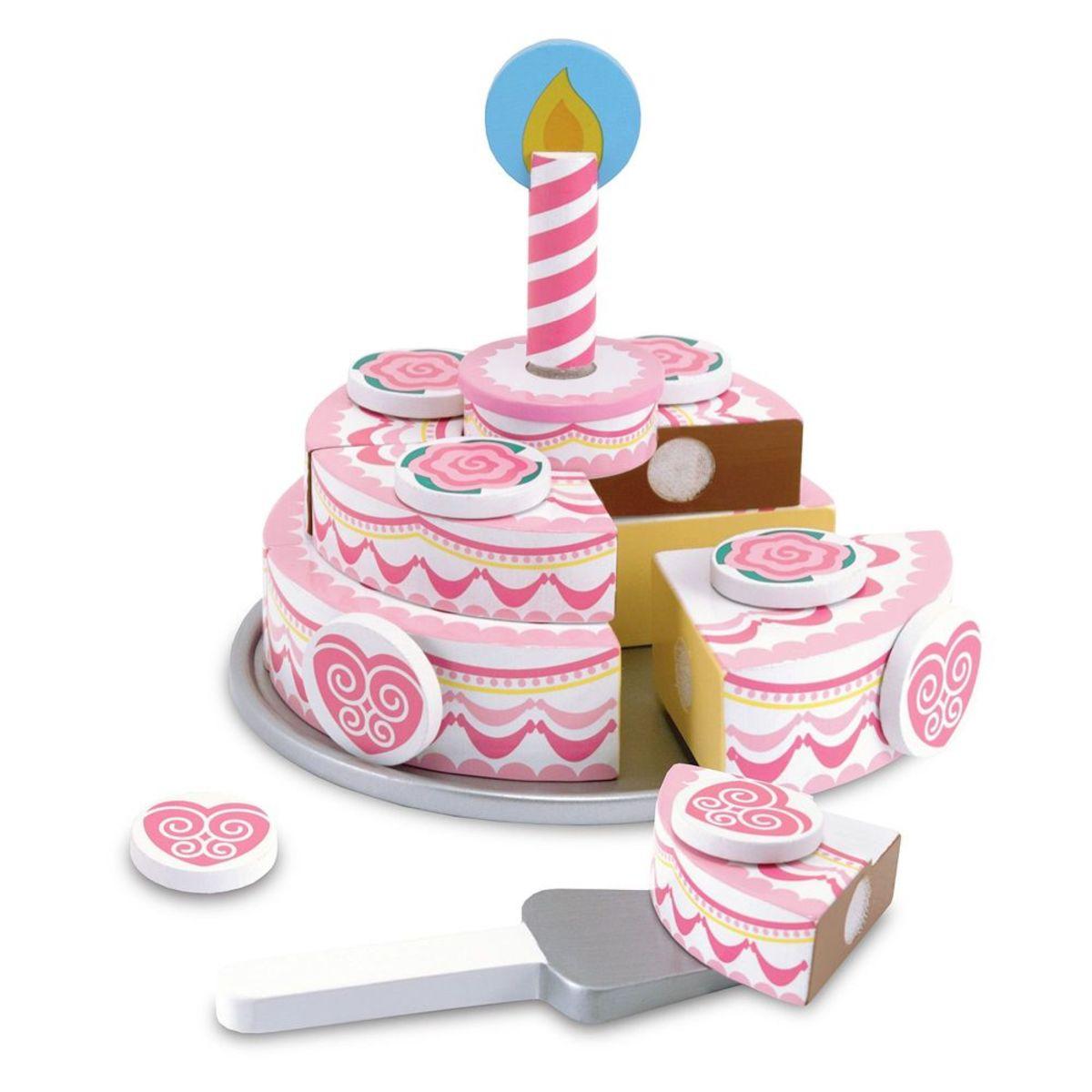 Dvojposchodový narodeninovú tortu Birthday cake