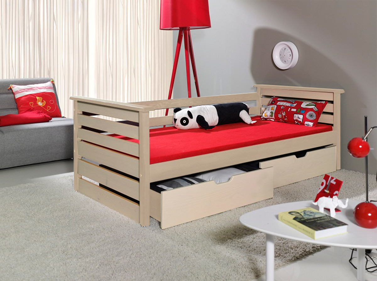 Detská posteľ - Single 180x80 cm borovica