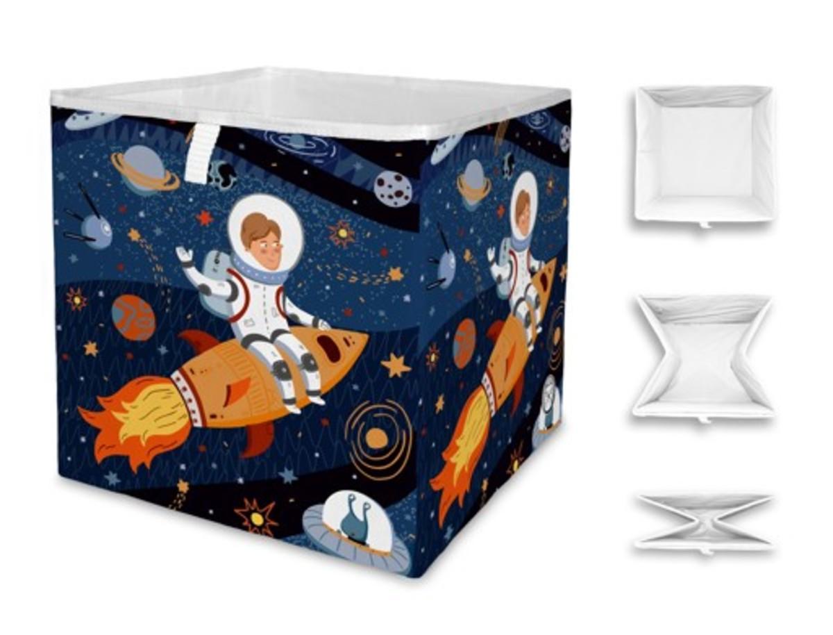 Mr. Little Fox úložný box vesmír Space Trip