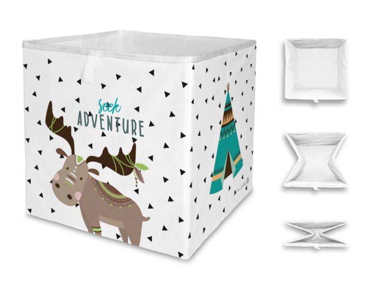 Mr. Little Fox úložná krabica indián jeleň Wild Adventure