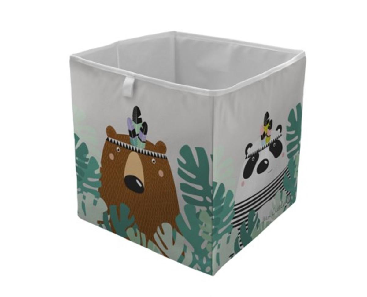 Mr. Little Fox úložná krabica medveď Bear