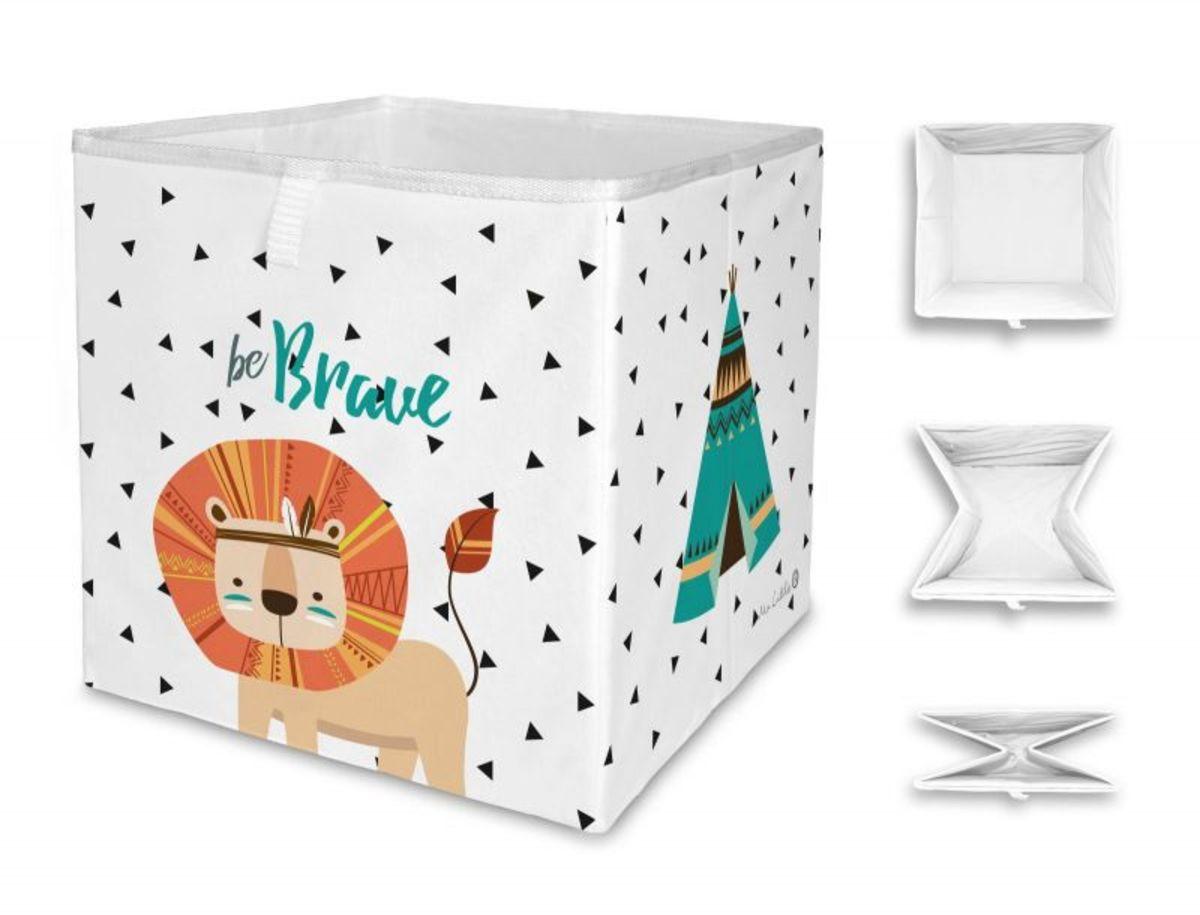 Mr. Little Fox úložná krabica indián lev Lion