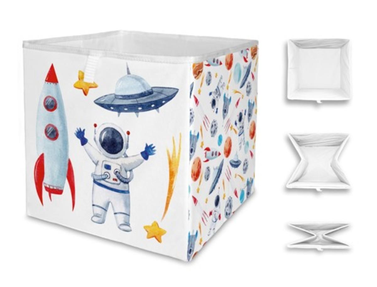 Mr. Little Fox úložná krabica poďme do vesmíru Space