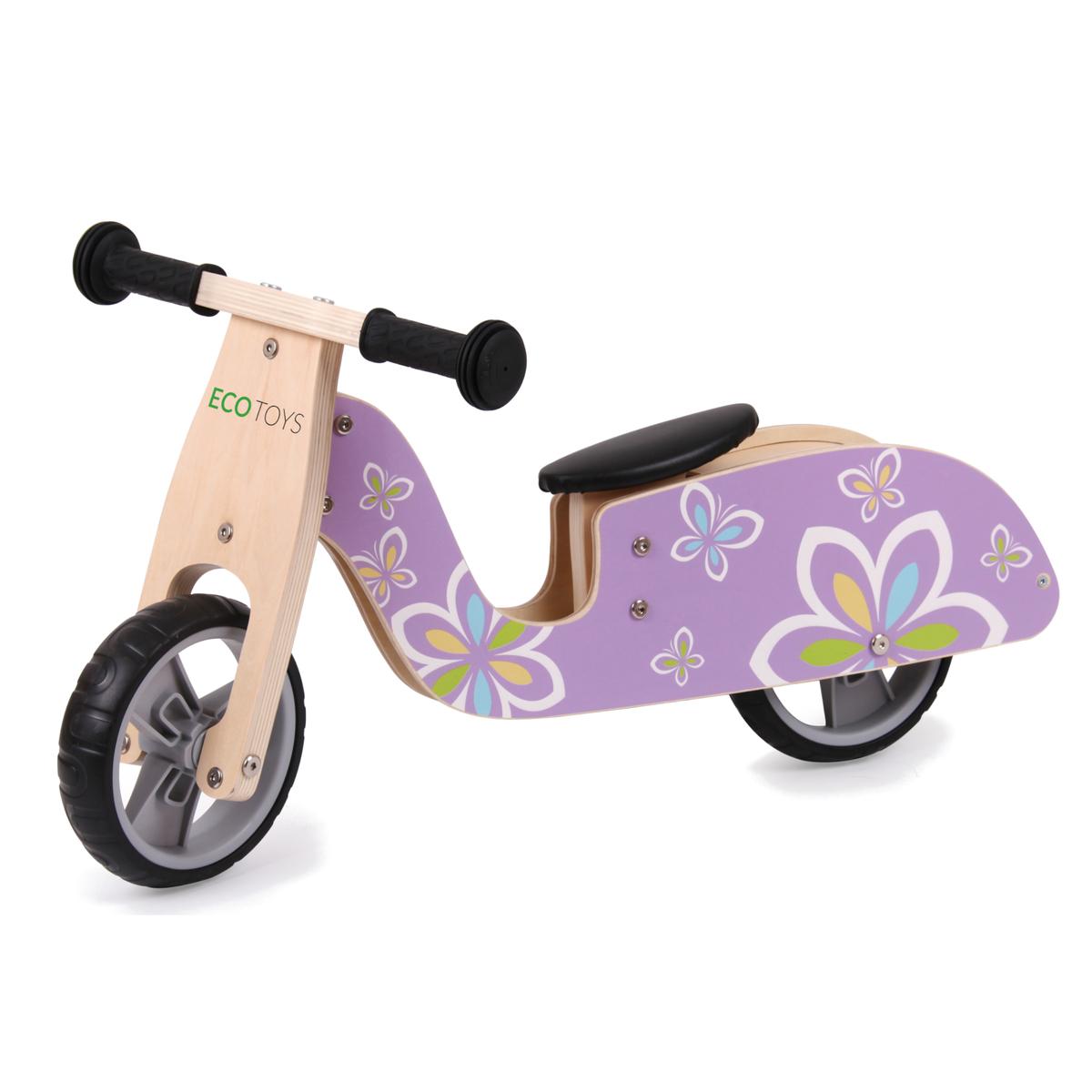 Drevené odrážadlo - Motýlik Butterfly wooden bike
