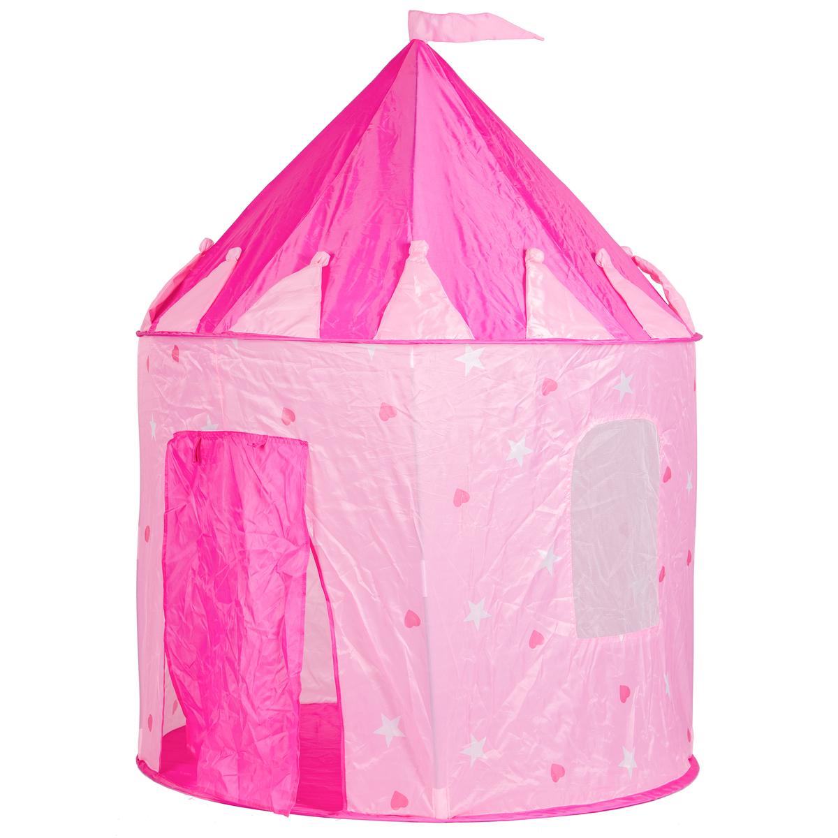 Detský stan - Palác pre princezné Pink castle tent