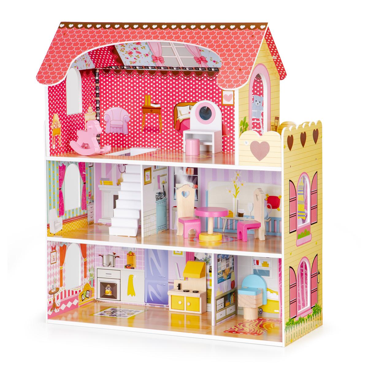 Drevený domček pre bábiky Madison dollhouse