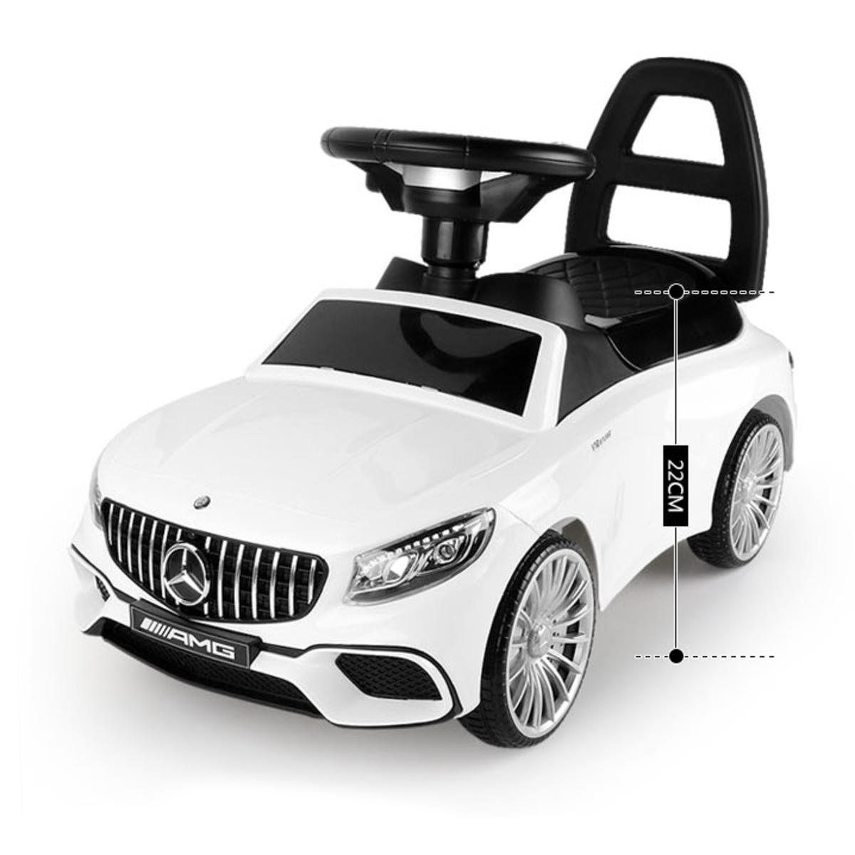 Odrážadlo Mercedes S65 AMG - biela white