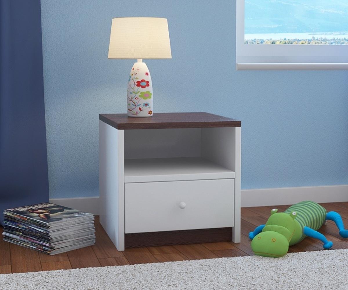 OURBABY detský nočný stolík - wenge