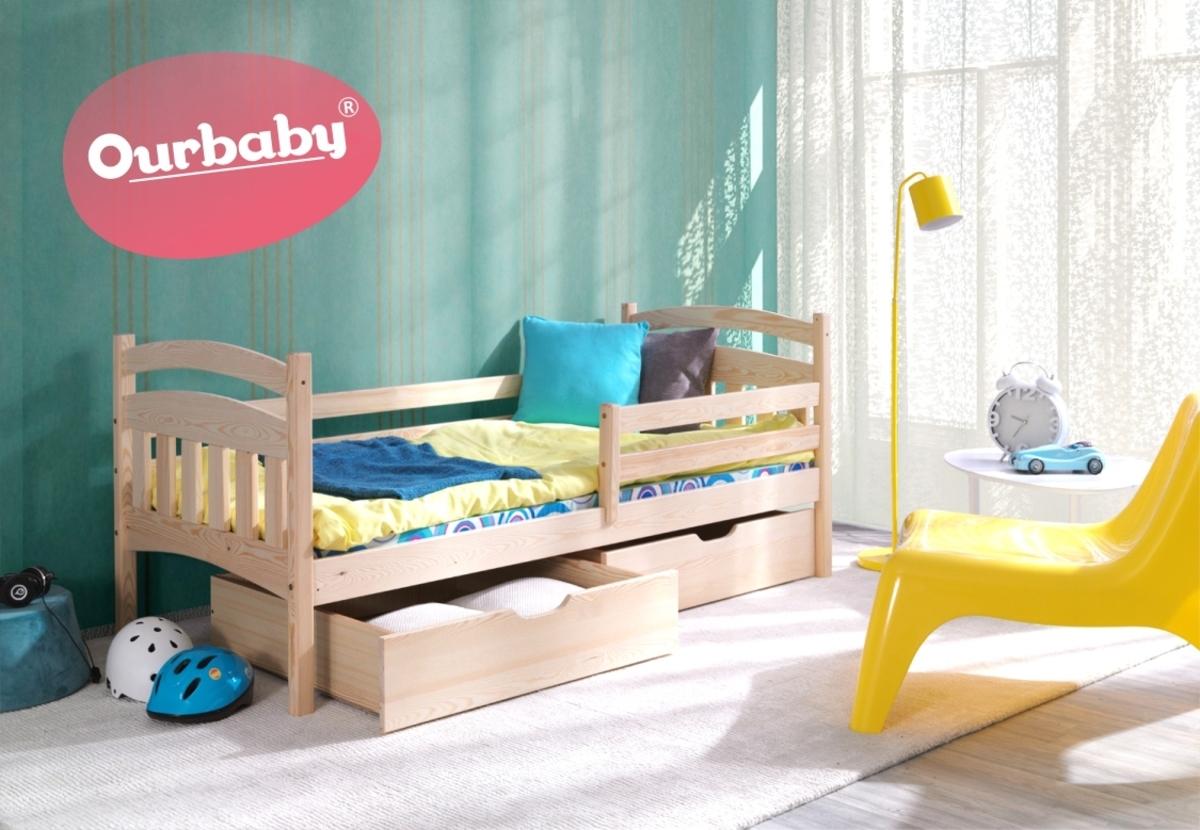 OURBABY detská posteľ MARCO 180x80 cm borovica