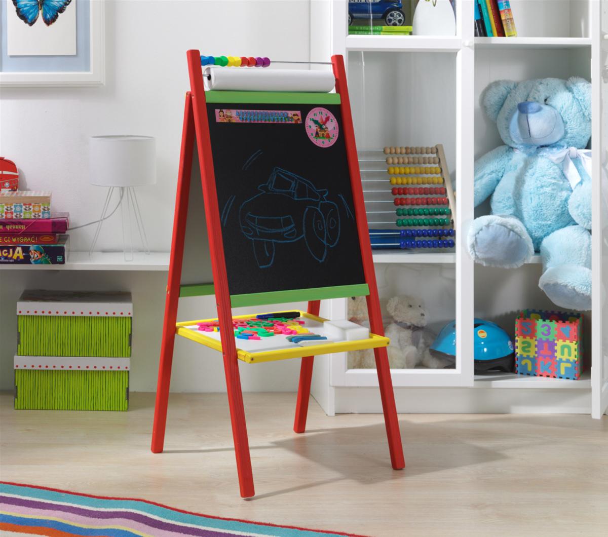 Farebná detská magnetická tabuľa MPC