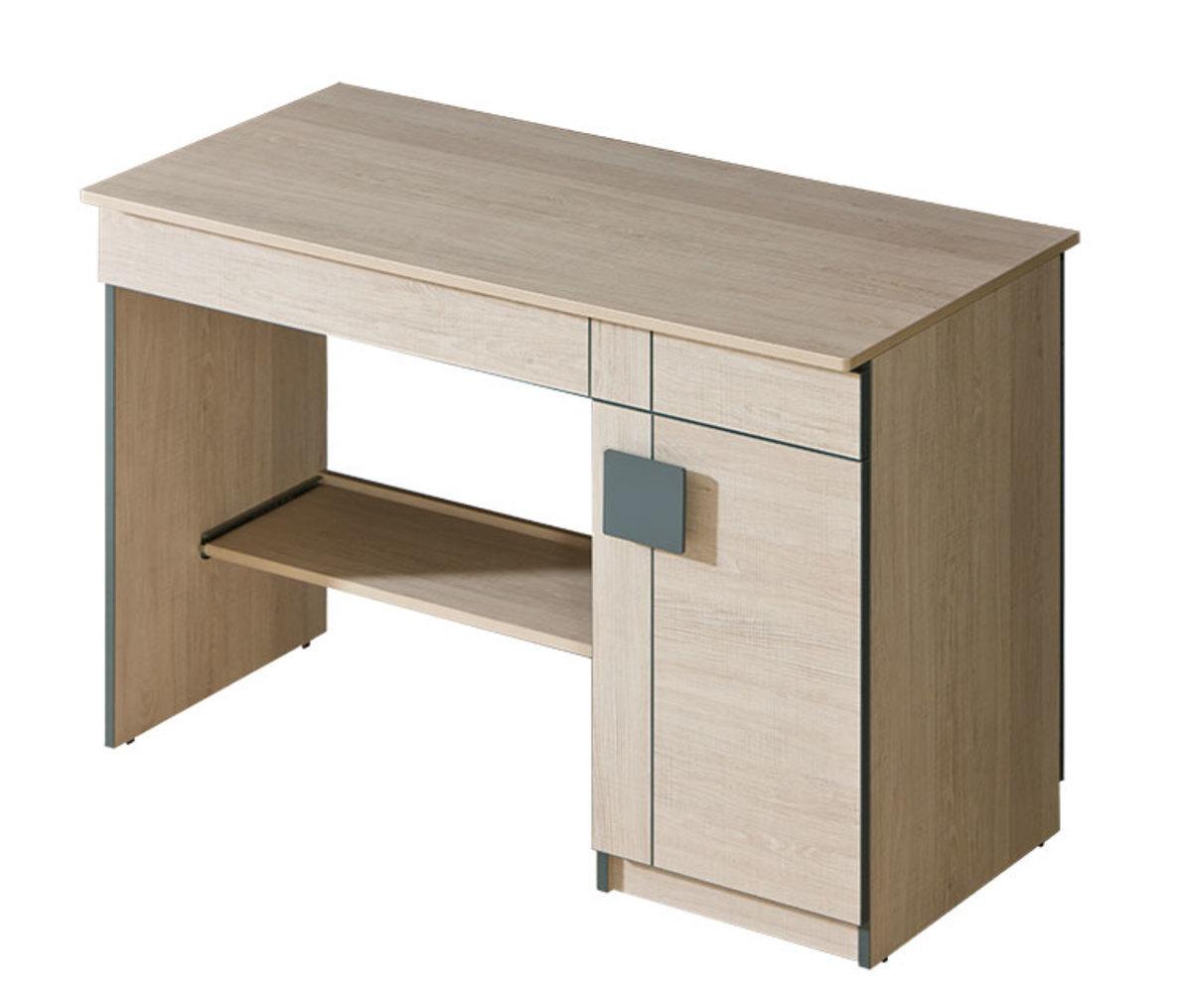 Písací stôl Gumi - sivý stôl
