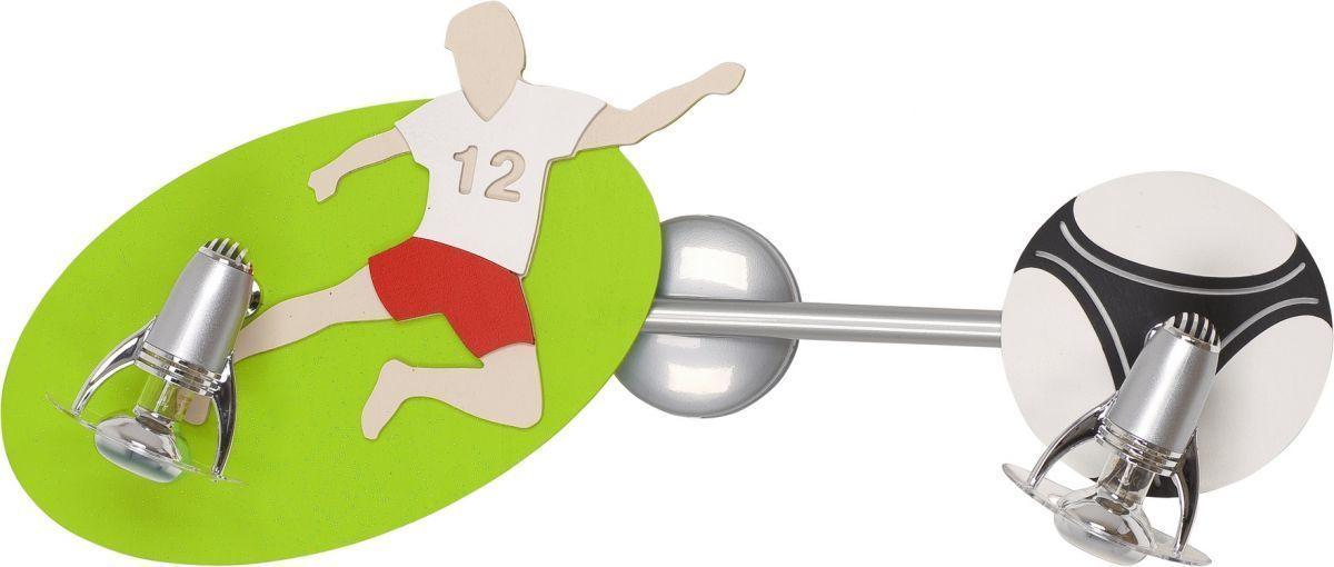 Detské nástenné svietidlo - futbal II