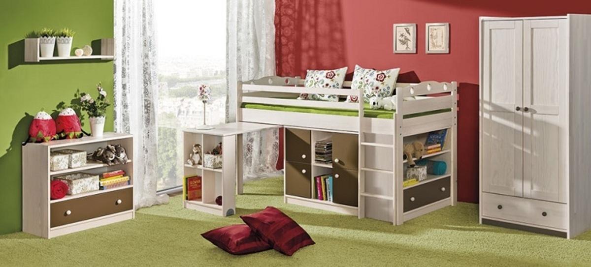 Detská posteľ Ourbaby Kamil biela 200x90 cm
