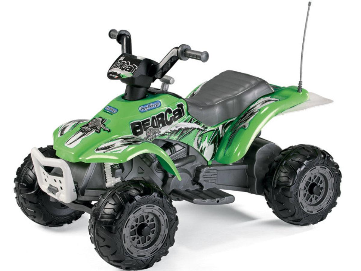 Detská elektrická štvorkolka Peg Perégo - Corral Bearcat IGED1165 - zelená