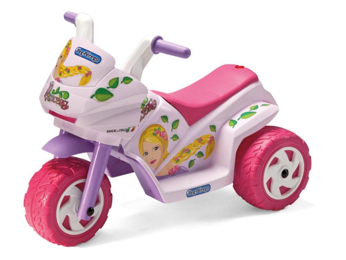 Detská elektrická trojkolka Peg Perégo - Mini Princess IGMD0003 -