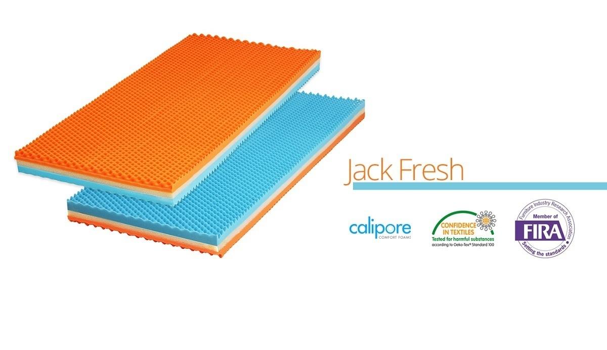 Matrace Ourbaby Jack Fresh 160x70 cm