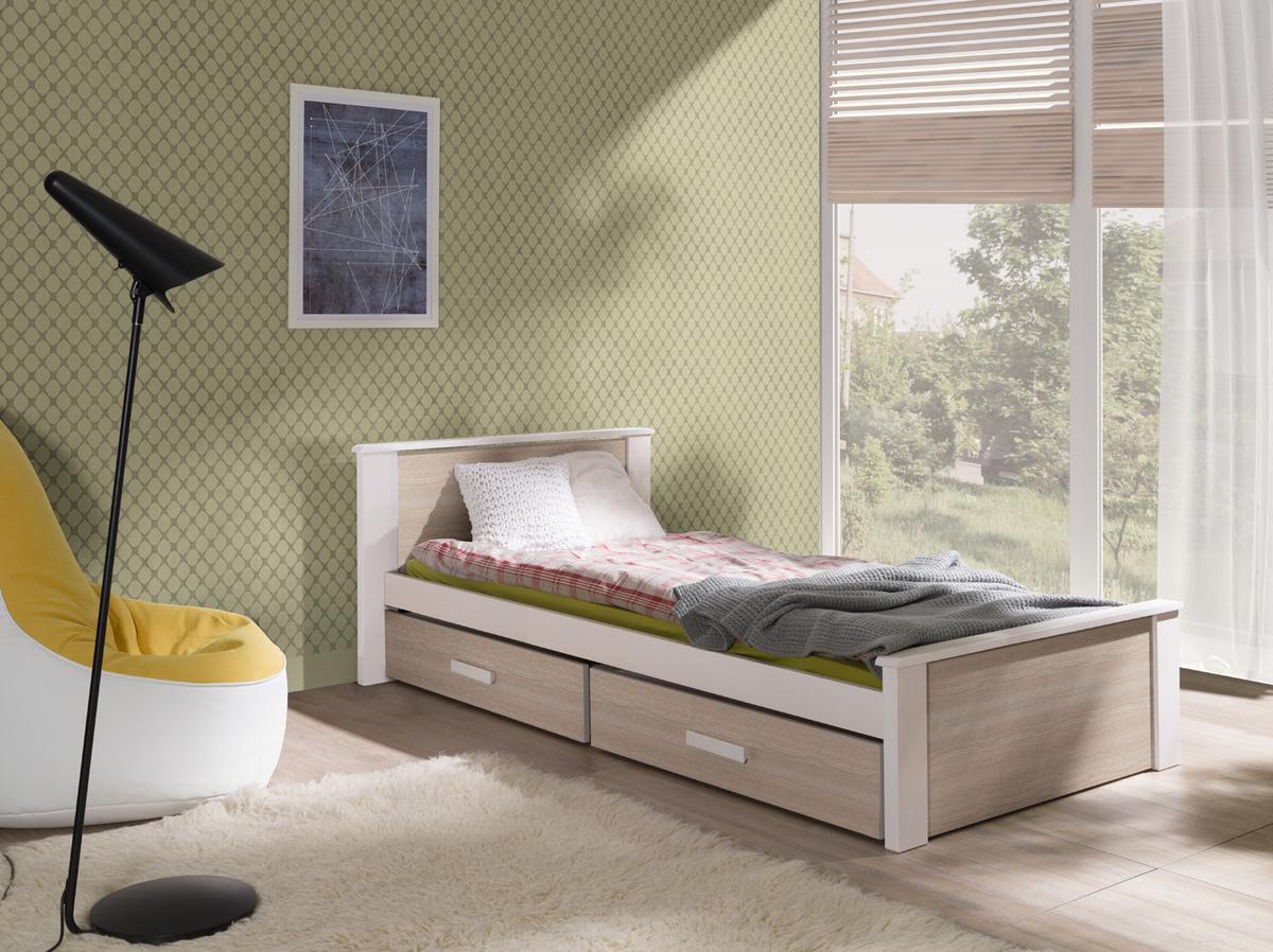 Detská posteľ Ourbaby Donald biela 180x80 cm