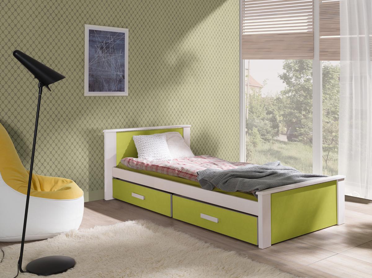 Detská posteľ Ourbaby Donald zelená 180x80 cm