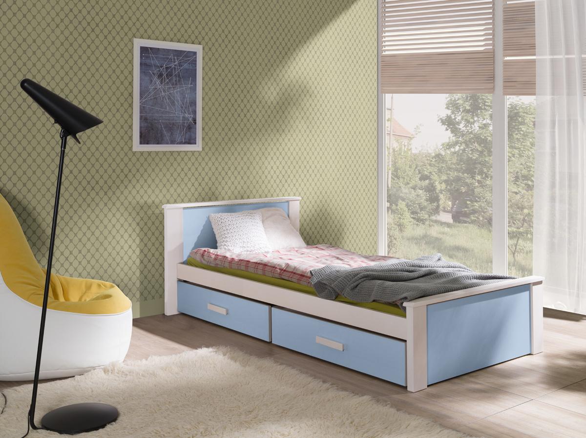Detská posteľ Ourbaby Donald modrá 180x80 cm