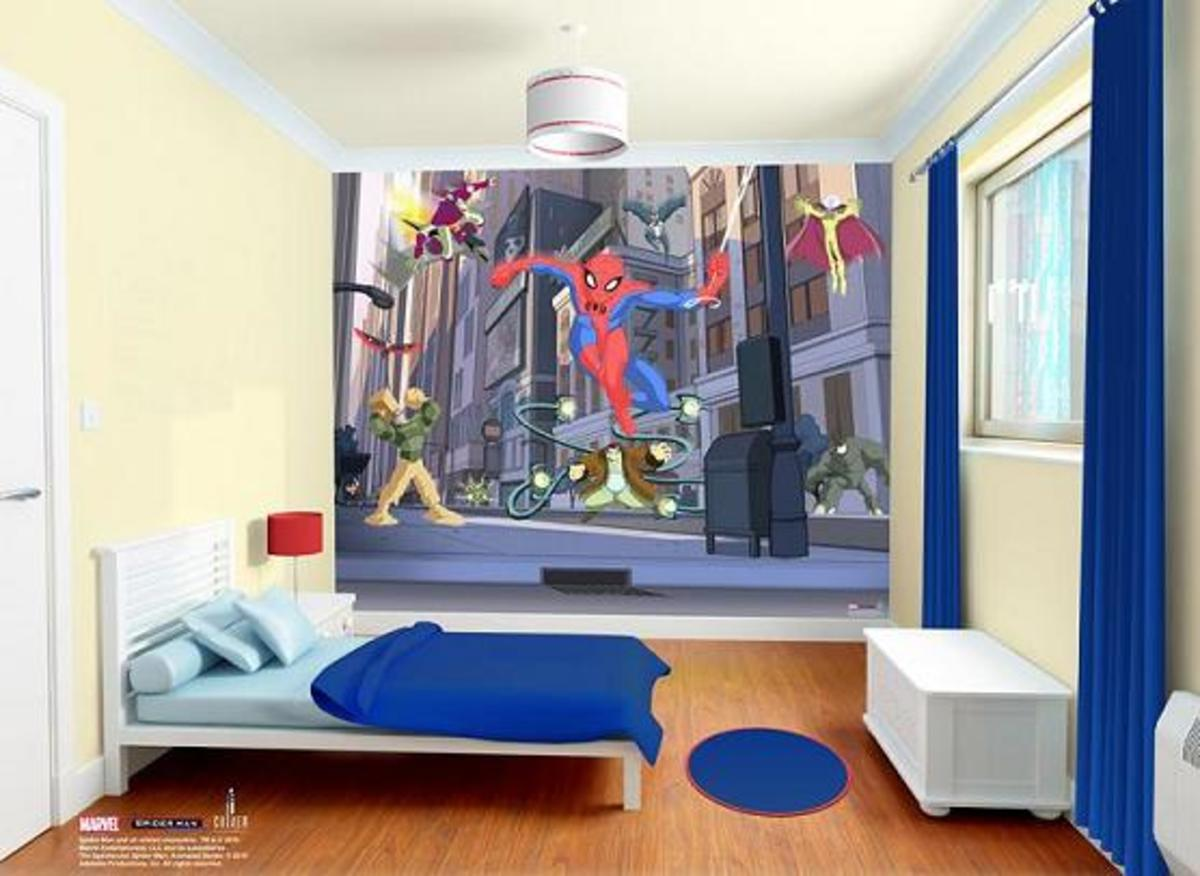 3D Tapeta SPIDERMAN SPECTACULAR