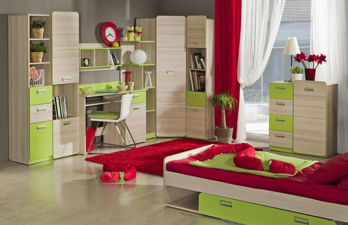 Detská izba Lori 1 izbový set set 1 - L7,L10,L9,L15,L14,L3,L6,L13
