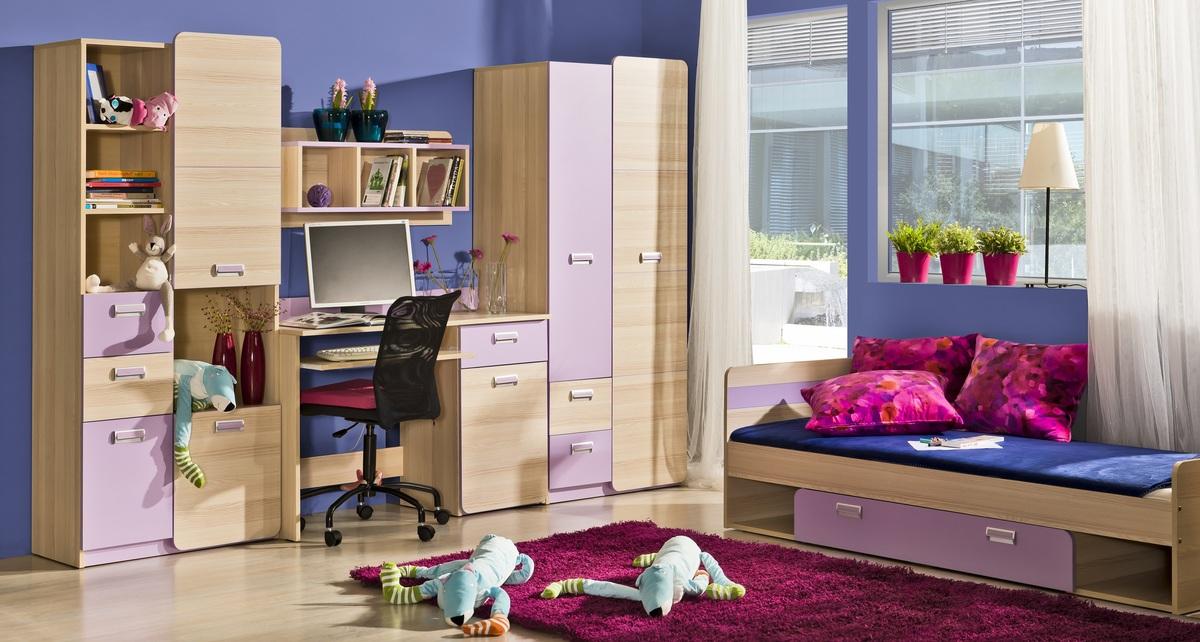 Detská izba Lori 3 izbový set set 3 - L7,L10,L1,L13,L9