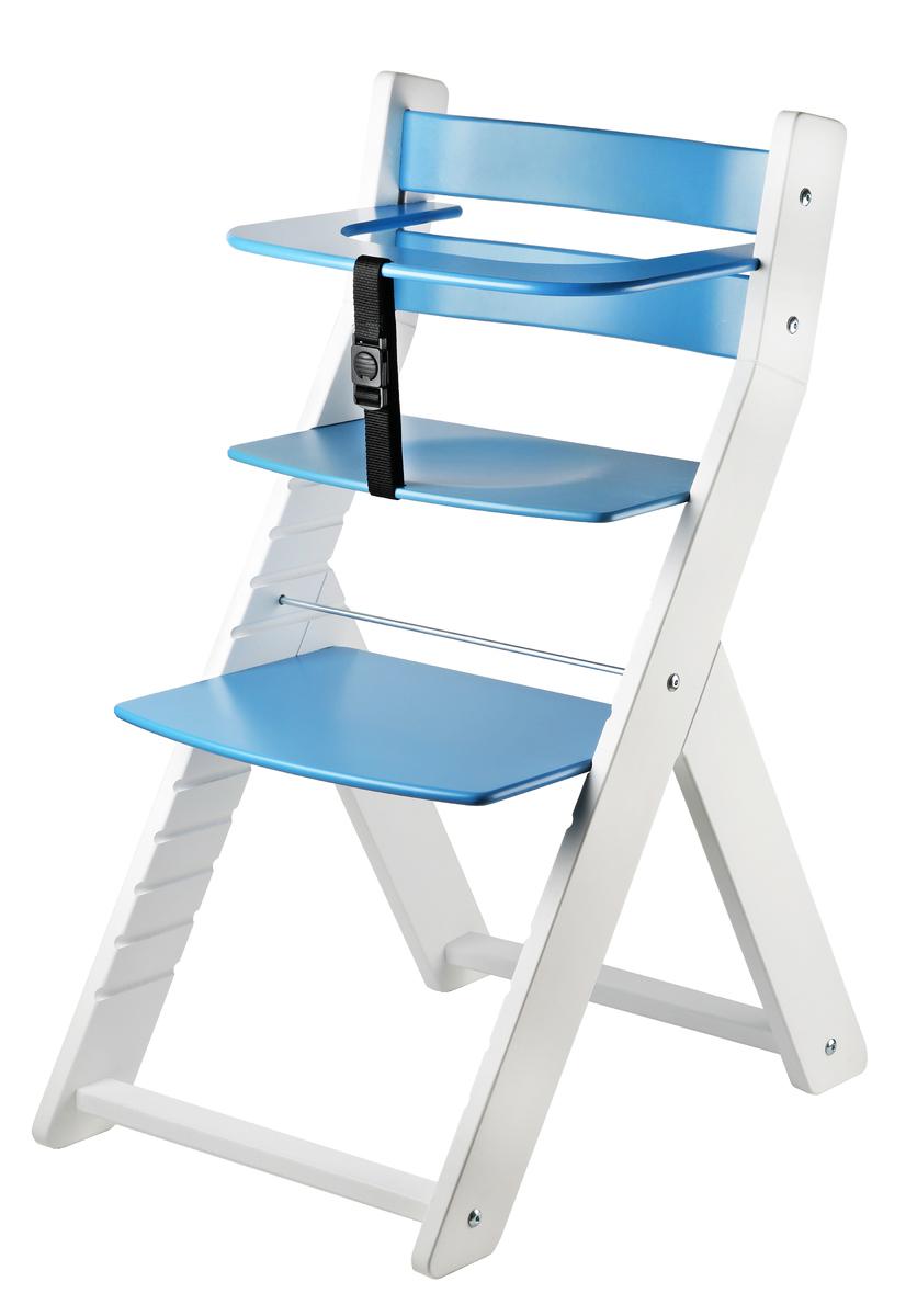 Detská rastúca stolička LUCA - modrá