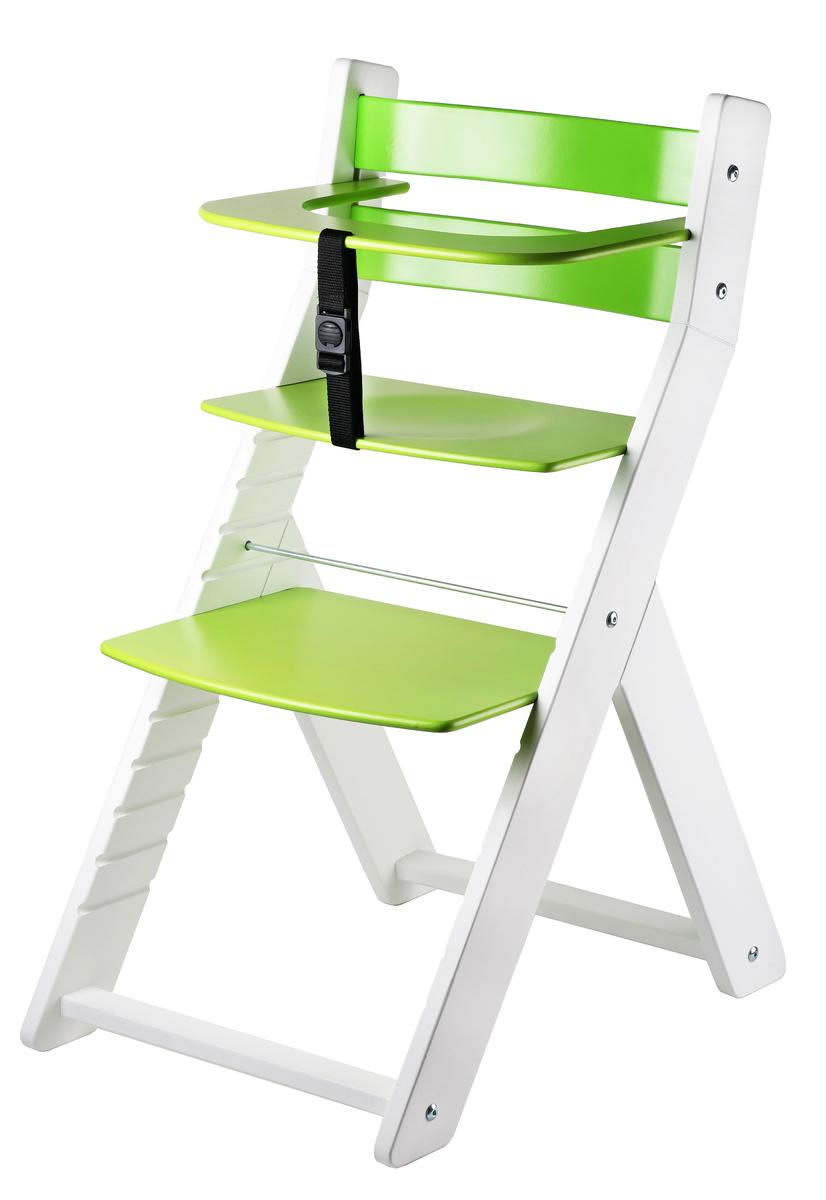 Detská rastúca stolička LUCA - zelená